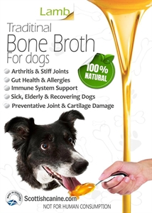 Lamb Bone Broth for Dogs