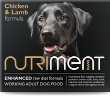 Chicken and Lamb formula