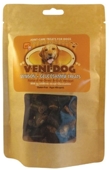 Pure British Venison + Glucosamine Joint-Care Treats