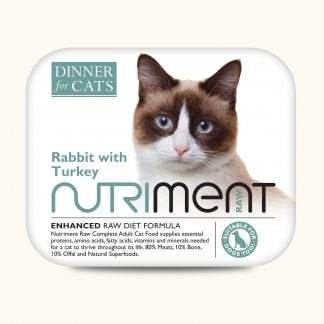 Dinner for Cats - Rabbit & Turkey