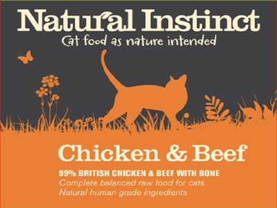 Chicken and Beef Cat Food (2 x 500g)