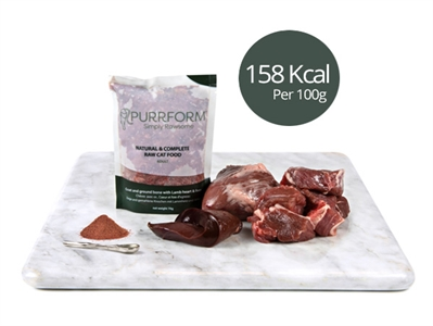 Minced Goat & Ground Bone with Lamb Heart & Liver 6 x 70g Pouches