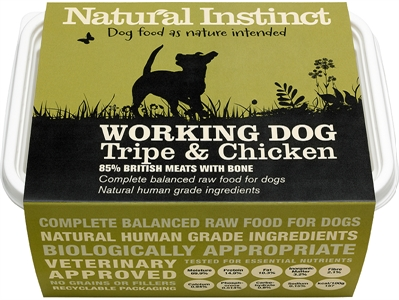 Working Dog Chicken and Tripe